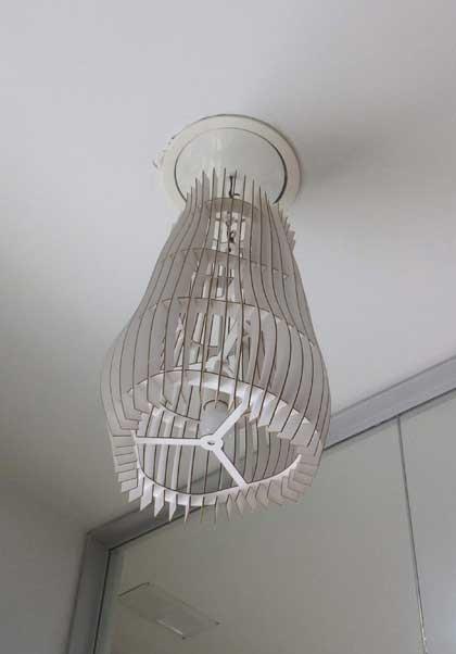 lampara parametrica carton