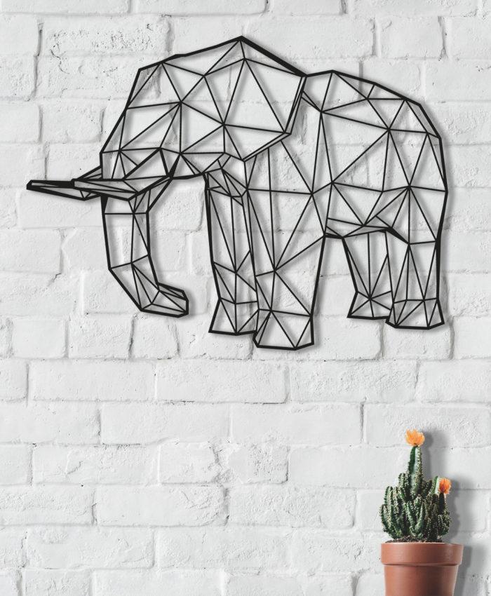 elefante geométrico